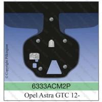 Лобовое стекло с датчиком дождя OPEL ASTRA GTC 3D под камеру CC 12-