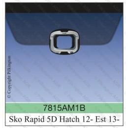 Лобовое стекло с датчиком дождя Skoda Rapid 2012-