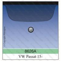 Лобовое стекло VolksWagen Passat B8 2015-