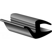 Молдинг универсальный (одивается на стекло) лепесток 7 мм